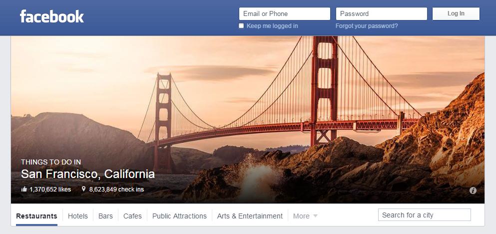 FB Places page